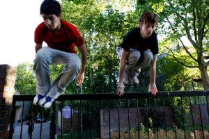 Dan Woodrow and Matt Pugh - Parkour Generations