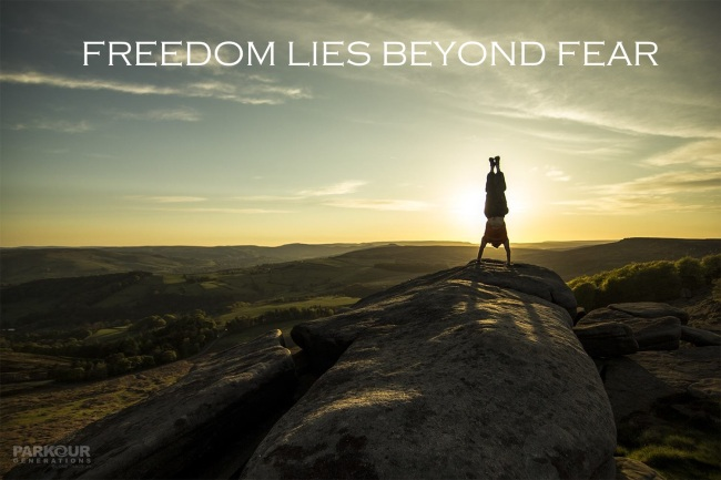 Freedom Lies Beyond Fear